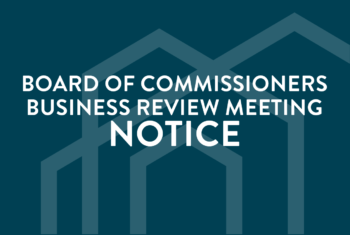 October 2020 Business Review Meeting Notice