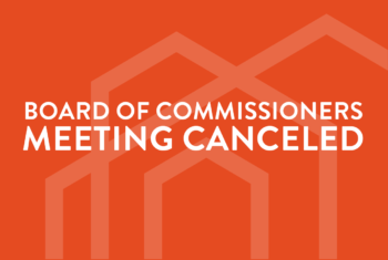 Mar 2020 Regular Meeting of the Board of Commissioners Notice of Cancellation