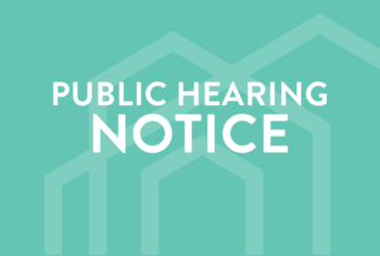 NOTICE OF VIRTUAL/TELEPHONIC PUBLIC HEARING – Monday, September 13, 2021 at 6:00 p.m
